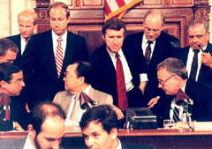 Cohen on Iran Contra Committee, 1987