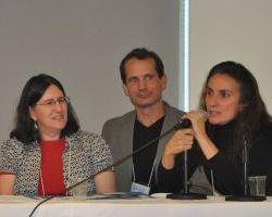 Professors Amy Fried, Joline Blais and Jon Ippolito