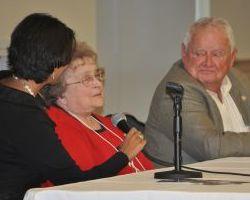 Gita Pullapilly, Joan Gaudet, and Jerry Mundy