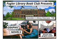 Library Book Club:  Graphic Novels