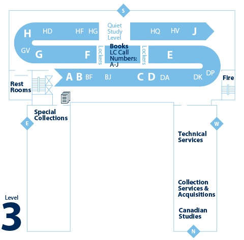 floorplan for level 3