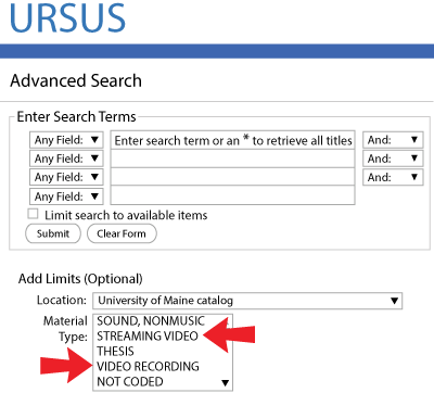 URSUS Video Search