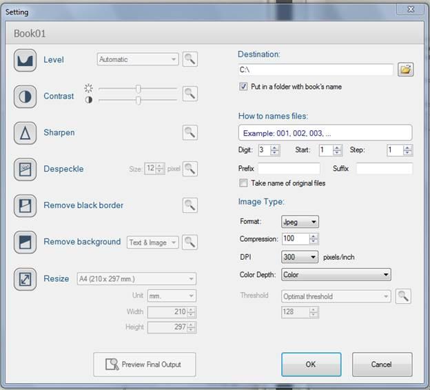 BookDrive Editing Tools