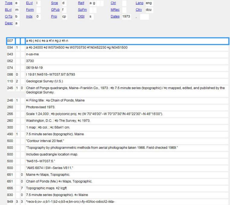 OCLC Workform Example