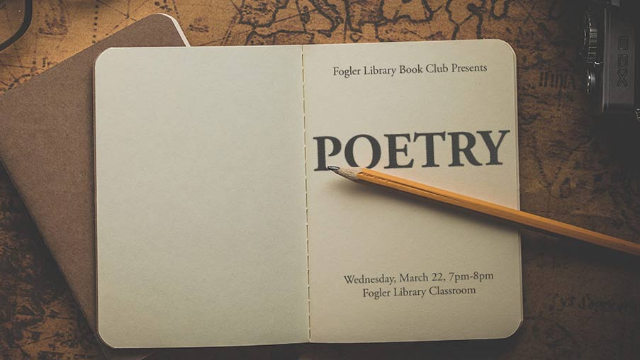 library book club poetry