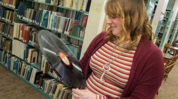 speical collections intern holding record