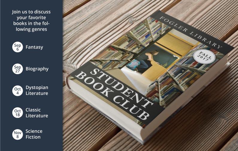 fogler book club fall schedule