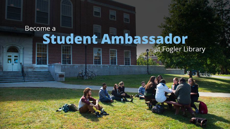 become a fogler library ambassador