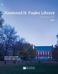 Fogler Library Magazine 17 Cover
