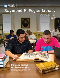 fogler library magazine 2018 cover photo